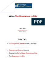 When the Boardroom is Bits 052111