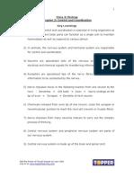 X Bio Ch2 Control&Coordination Keylearnings(1)