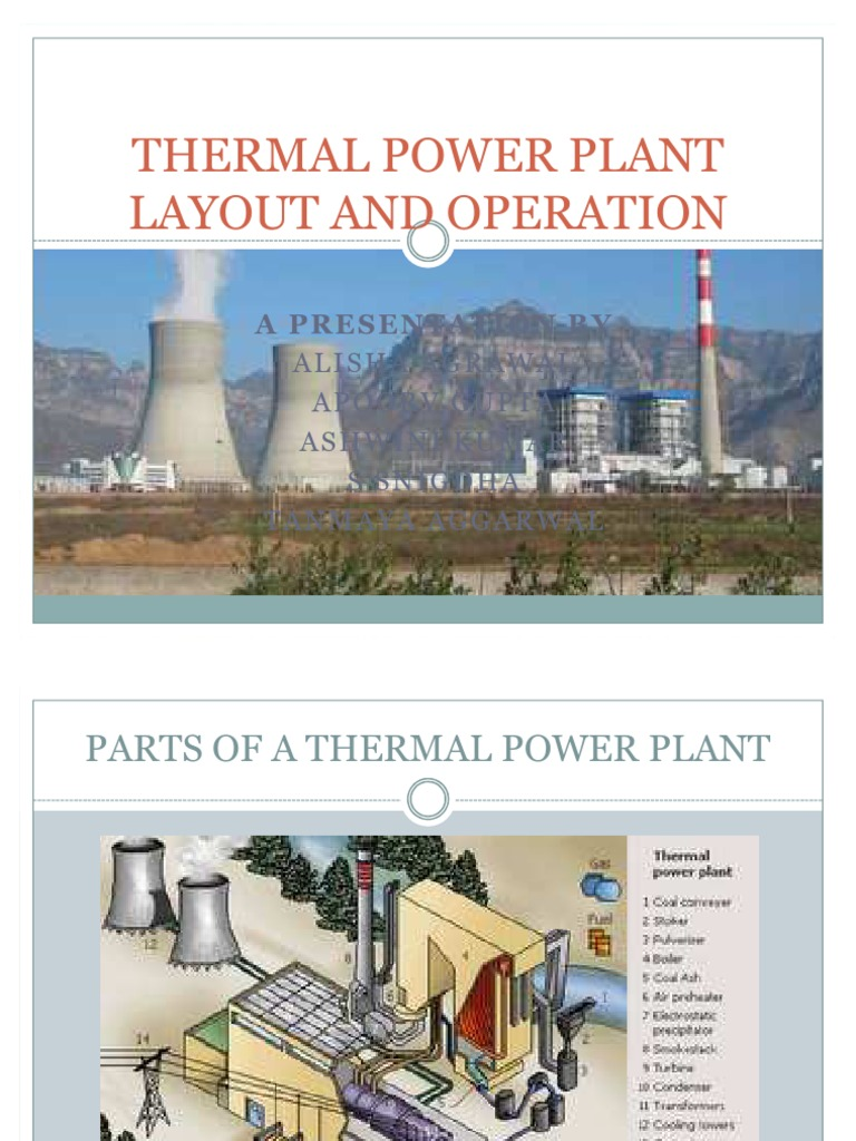 thermal power plant pptThermal Power Plant Diagram Ppt #21