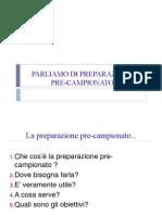 F.ferretti -Lezione Preparazione Pre to