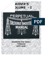 Rider's Perpetual Troubleshooter's Manual Volume 1