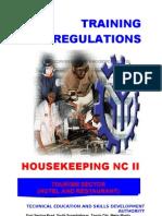 Tr - Housekeeping Nc II