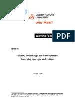 Necesitatea Inovarii in PVD 2007