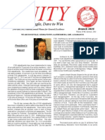 UNITY, The Newsletter of NALC Br. 3825, Summer 2011