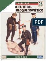 Del Prado Spagnolo 36 - Tropas de Elite Del Antiguo Bloque Sovietico