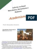 Academismo No Brasil - AIBA - Comentarios das imagens