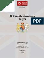 Trabalho - O Constitucionalismo Inglês
