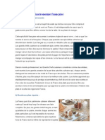 La Gastronomie française