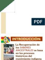 RECUPERACIÓN DE SABERES ANCESTRALES SEMINARIO INTERNACIONAL