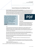 Cisco Protects Internal Infrastructure from Web-Based Threats (Case Study)