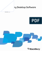 BlackBerry Desktop Software for Mac Version 2.1 User Guide