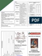 Formadores folder inscriçao