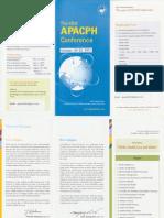 2011 Conference Brochure Korea