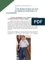 Concejal popular tránsfuga expulsado del PP