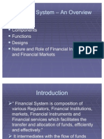 Financial System - An Introduction