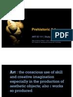 ARTID111 Prehistoric Art