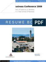 Resume Book GBC 2008