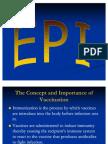 EPI Expanded Program on Immunization