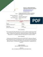 Codigo Municipal Libro III Quito