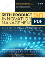 2011 Product Innovation Management Annual Global Conference Advance Program