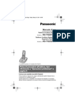 Panasonic KX-TG2511JT Wireless Telephone (User's Manual)