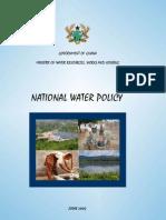 Ghana Water Policy