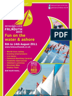 Henri Lloyd Falmouth Week Program 2011