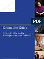 Ordination Guide for Amendment 10-A