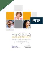 Hispanic Institute White Paper on Retirement