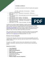 Normas ABNT para trabalhos acadêmicos
