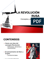 LA REVOLUCIÓN RUSA. Antecedentes