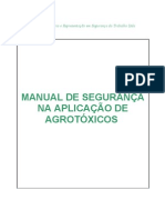 MANUAL DE SEGURANÇA NA APLICAÇÃO DE AGROTÓXICOS