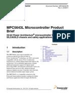 MPC5643LPB