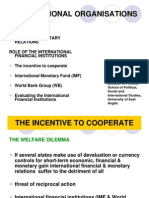 IO Ppt 8 Fin & Monetary Relations & the IFIs 2010-11