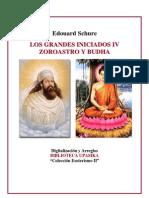 Schure Edouard - Zoroastro y Buda