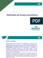Alçadas e Grupo Economico