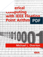 Numerical Computing With IEEE Floating Point Arithmetic - Michael L OVERTON - 2001 - SIAM