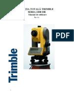 Manual Utilizare Trimble 3300