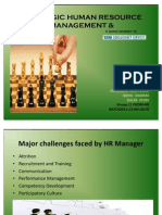 STRATEGIC HUMAN RESOURCE MANAGEMENT & TCS