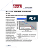 Wireless n Performance Study 12-12-06