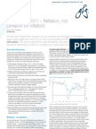 GLG Outlook - Outlook for 2011 – Reflation, not Deflation (or Inflation), Dec '10