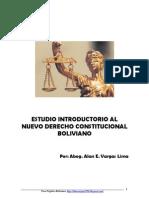 Introducción al Derecho Constitucional Boliviano (2012)