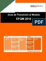 Guia Transicion Modelo Efqm 2010