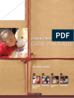 China Care Foundation - Summer 2011 Newsletter