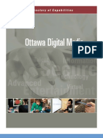 Ottawa Digital Media Capability Guide 2009