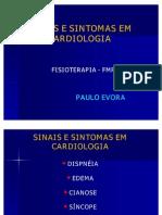 Sinais Sintomas Em Cardiologia