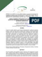 Modelo Sistêmico e Processual de Planejamento e Gestão de Territórios Turísticos