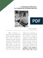 La Dictadura de Pinochet y su configuración de Estado Nacional