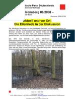 BvK 2008/06 - Die Eilenriede in der Diskussion