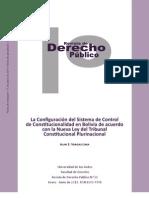 El Control de Constitucionalidad en la Nueva Ley del Tribunal Constitucional Plurinacional en Bolivia